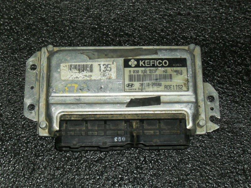 Блок управления двигателем Hyundai Accent G4ECG (б/у)