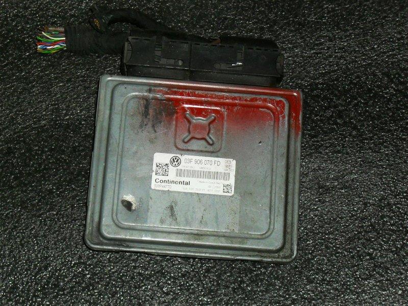 Блок управления двигателем Volkswagen Polo 6R1 CBZB (б/у)