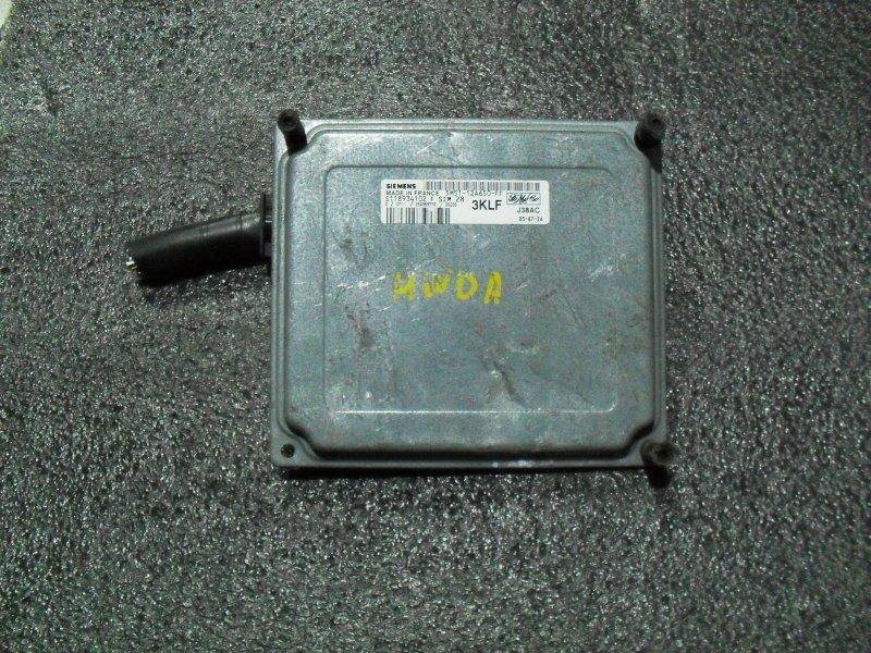 Блок управления двигателем Ford Focus 6R1 HWDA (б/у)