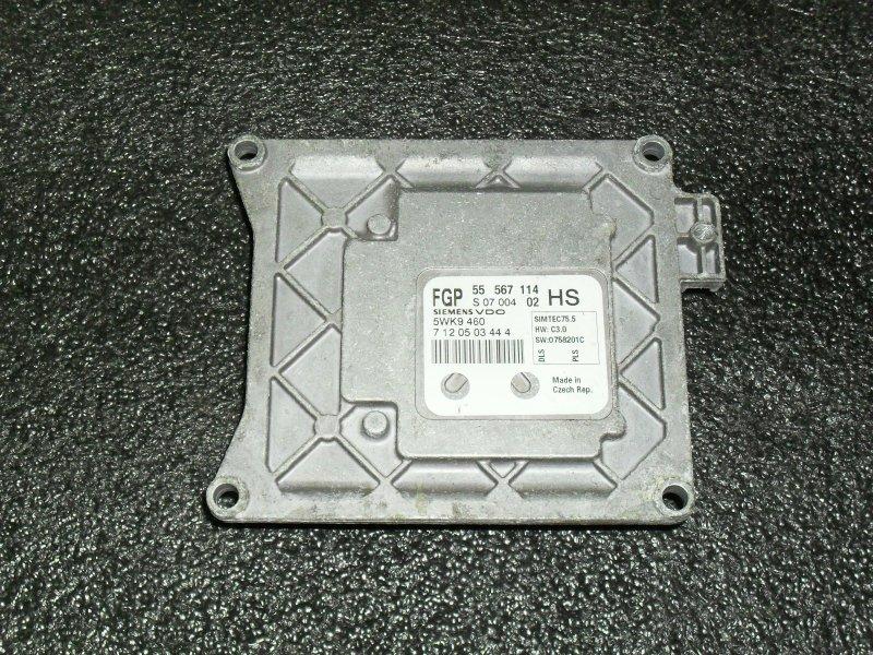 Блок управления двигателем Opel Astra L35 Z16XER (б/у)