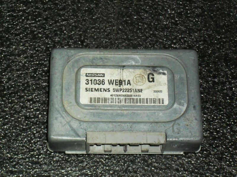 Блок управления акпп Nissan Ad VFY11 QG15DE (б/у)