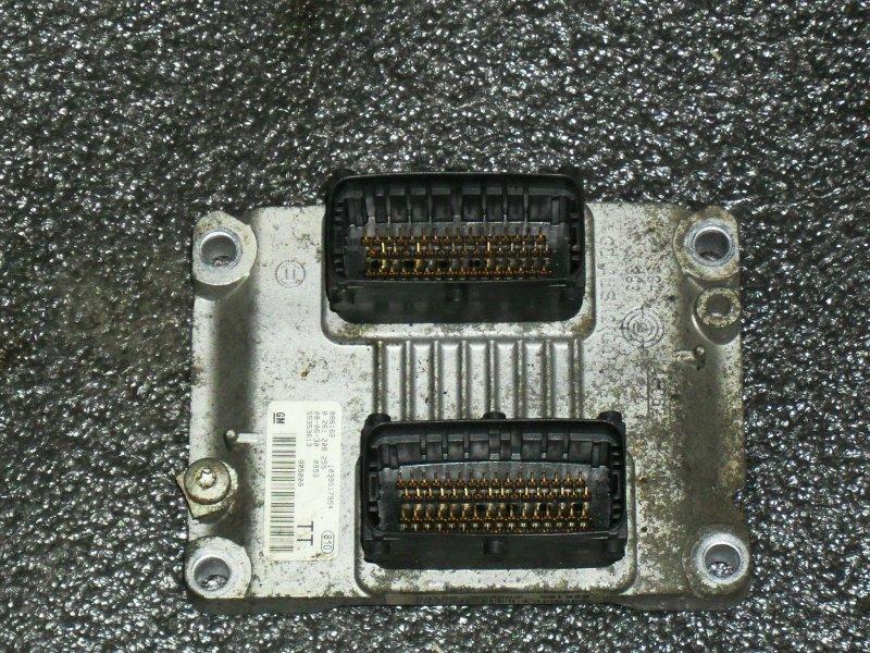 Блок управления двигателем Opel Corsa Z14XEP (б/у)