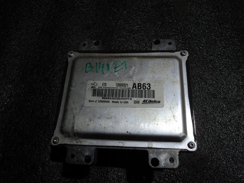 Блок управления двигателем Opel Mokka B14NET (б/у)