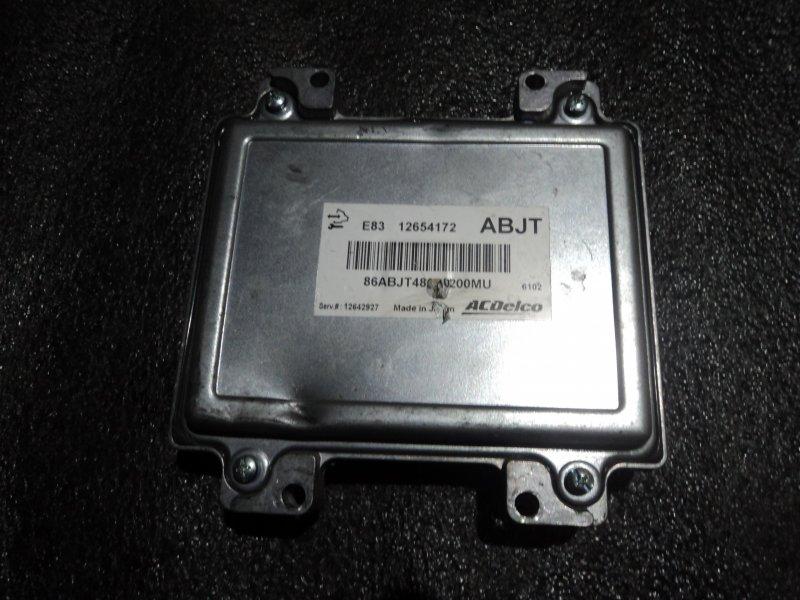 Блок управления двигателем Chevrolet Cruze A16LET (б/у)