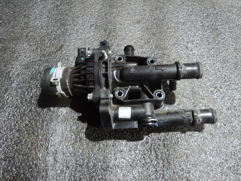 Корпус термостата Chevrolet Astra A16LET (б/у)