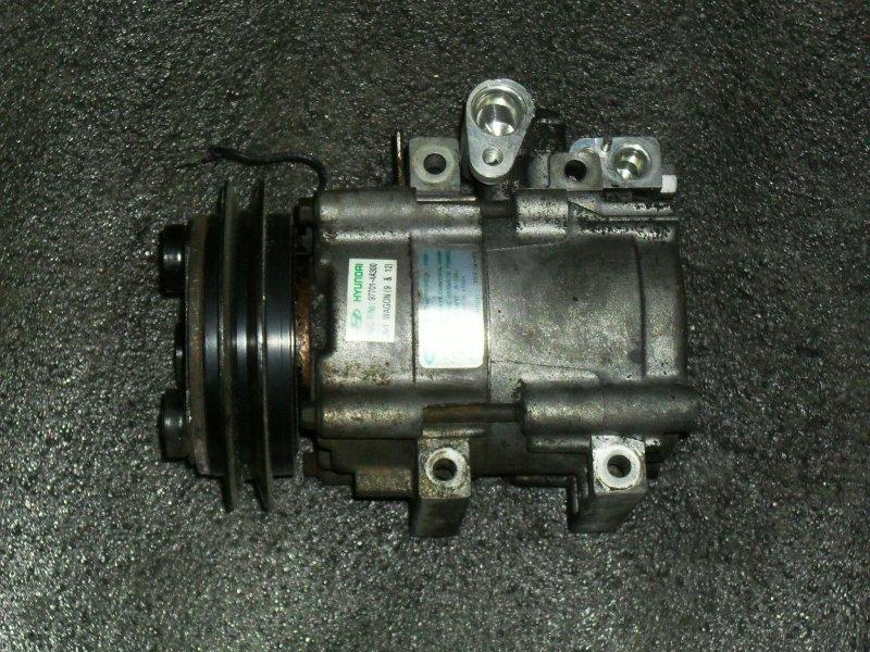Компрессор кондиционера Hyundai Terracan D4BF (б/у)
