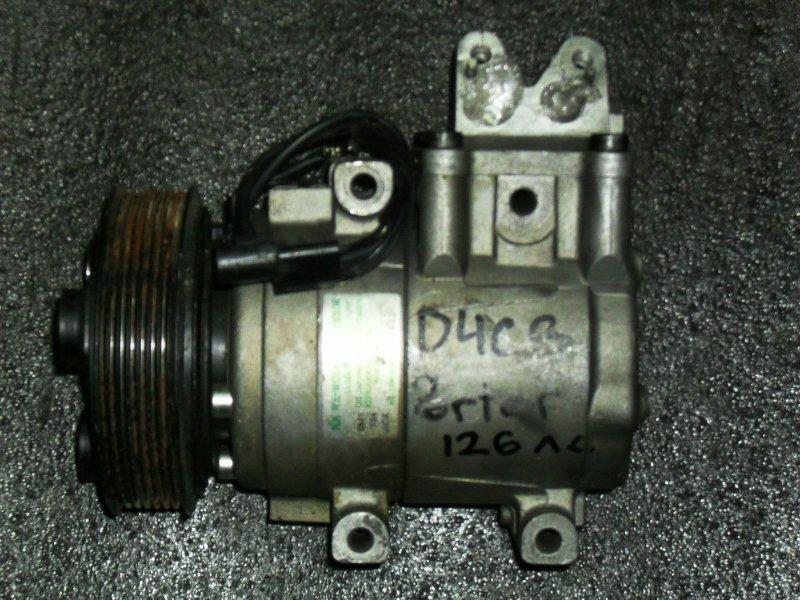 Компрессор кондиционера Hyundai Porter Ii D4BB (б/у)