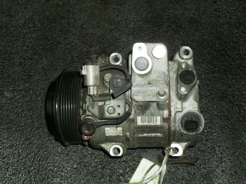 Компрессор кондиционера Toyota Estima GGH20 2GRFE (б/у)