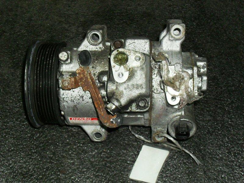 Компрессор кондиционера Toyota Auris ZRE151 1ZRFAE (б/у)