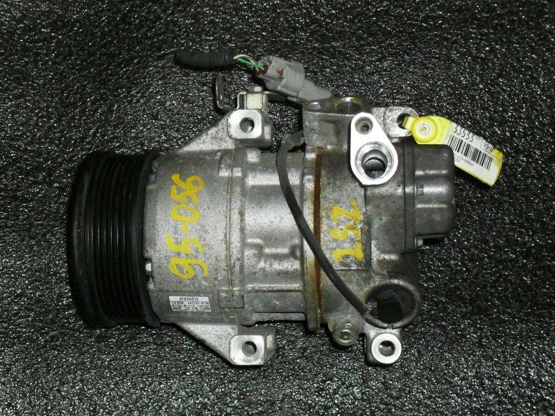 Компрессор кондиционера Toyota Vitz SCP90 2SZFE (б/у)