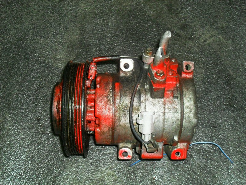 Компрессор кондиционера Toyota Vista Ardeo ZZV50 1ZZFE (б/у)