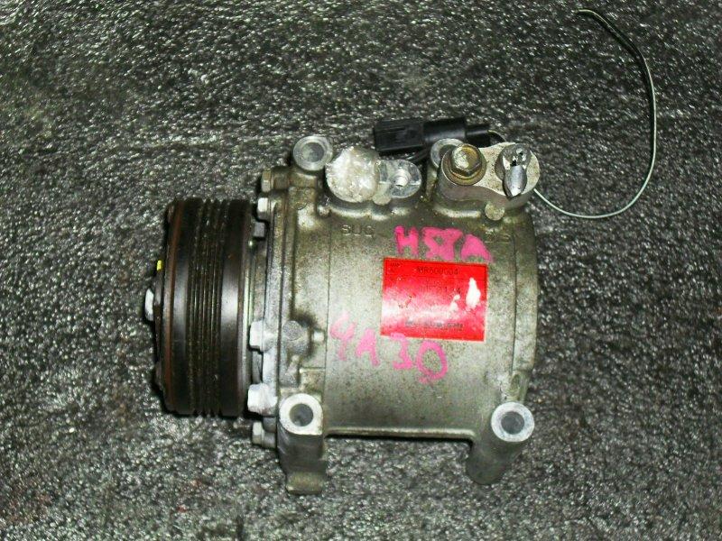 Компрессор кондиционера Mitsubishi Pajero Mini H58A 4A30 (б/у)