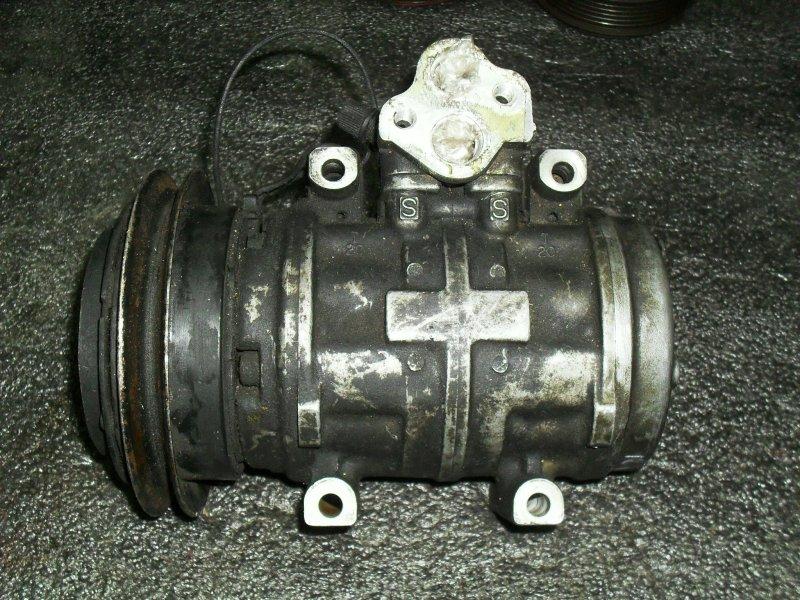 Компрессор кондиционера Mitsubishi Delica P25W 4D56 (б/у)