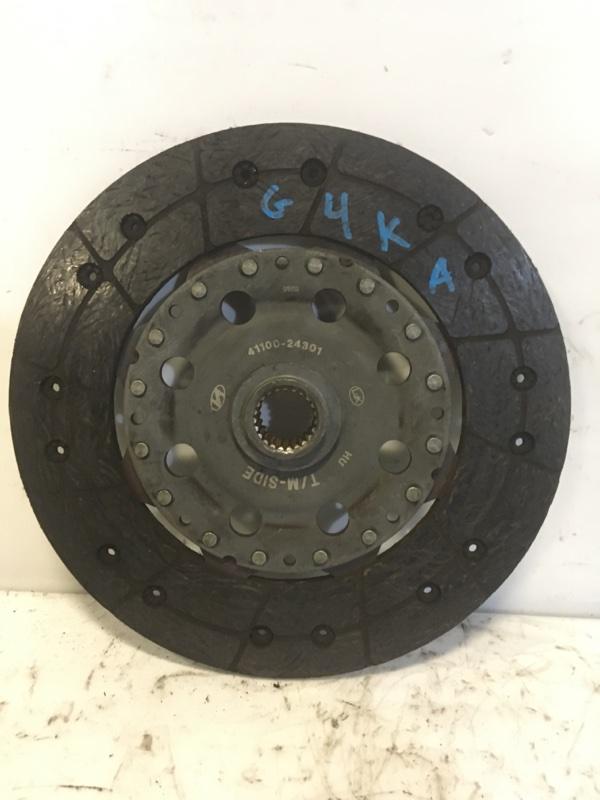 Диск сцепления Hyundai G4KA (б/у)