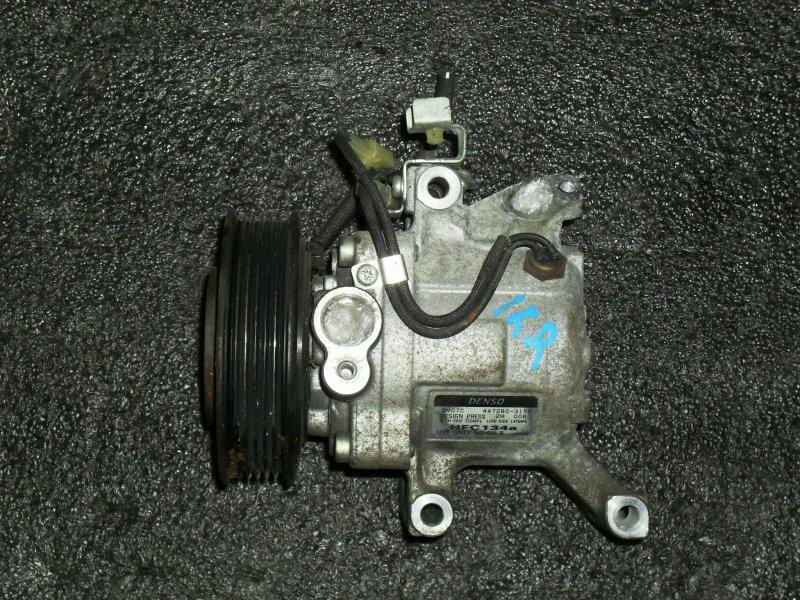 Компрессор кондиционера Toyota Boon M301S 1NRFE (б/у)