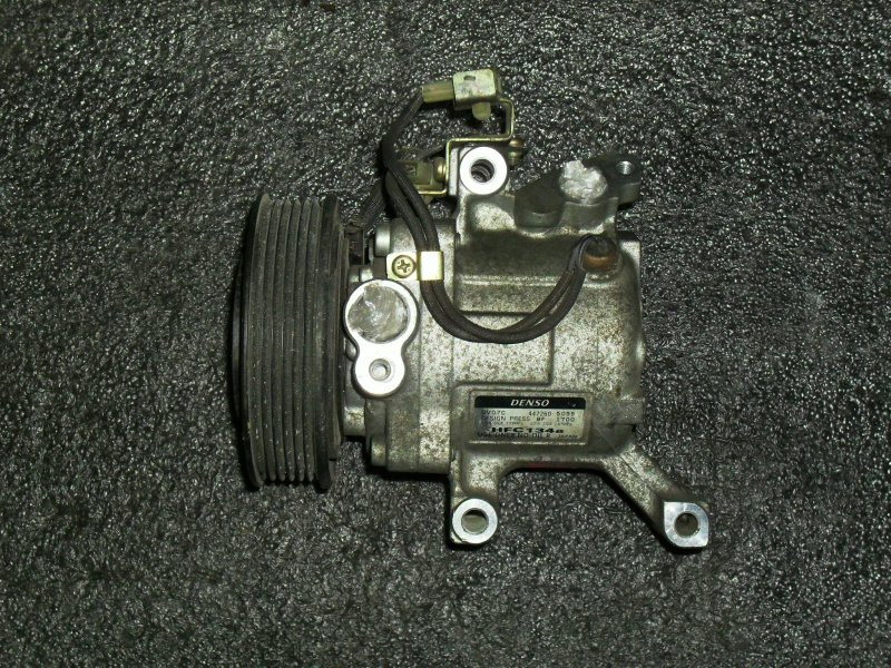 Компрессор кондиционера Toyota Passo M301S 1NRFE (б/у)