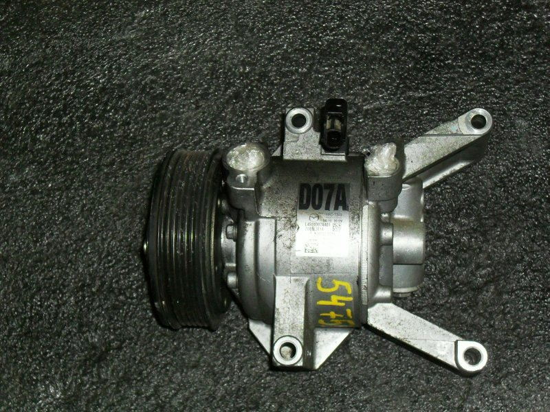 Компрессор кондиционера Mazda Demio DEJFS P3VPS (б/у)