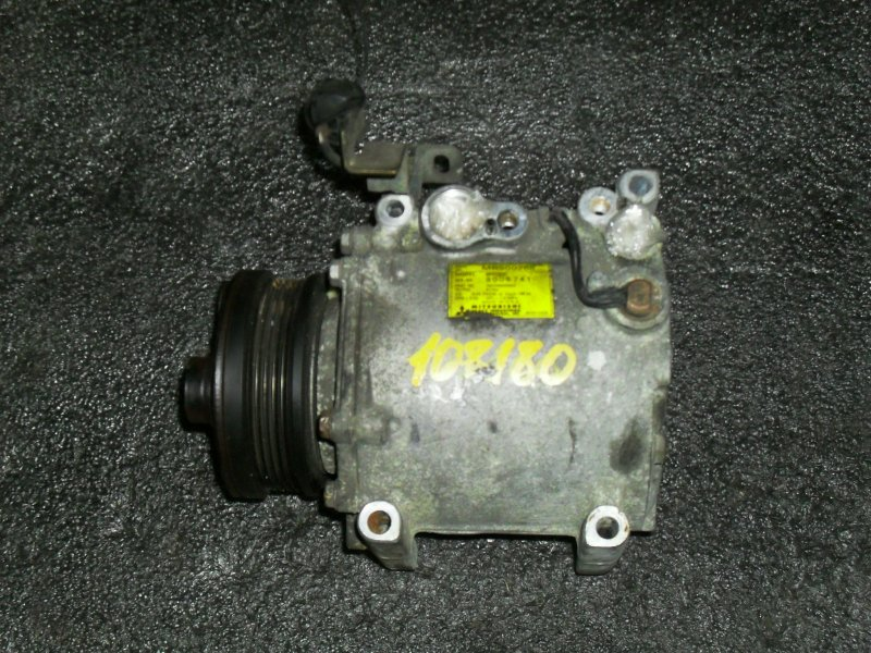 Компрессор кондиционера Mitsubishi Dion CR6W 4G94 (б/у)