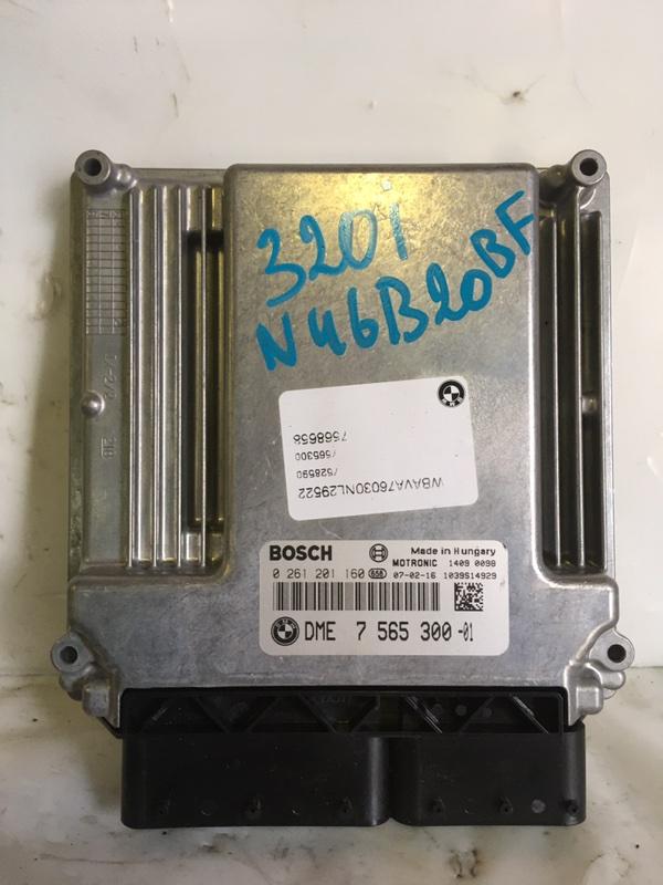 Блок управления двигателем Bmw 3-Series N46B20BF (б/у)