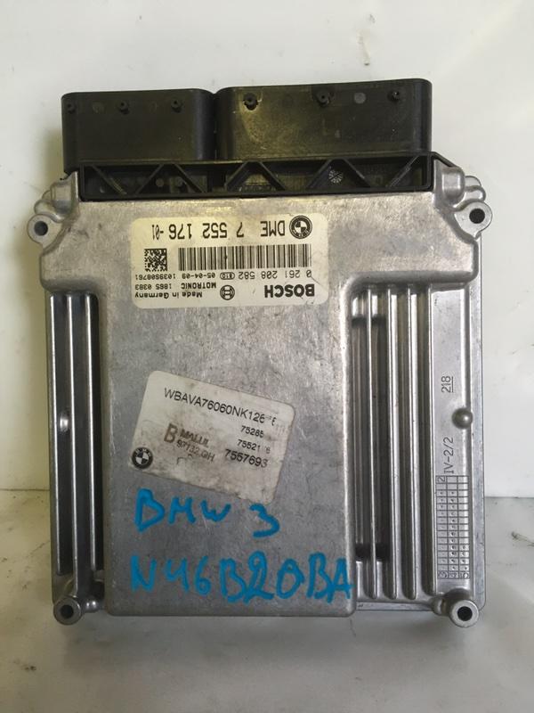 Блок управления двигателем Bmw 3-Series N46B20BA (б/у)