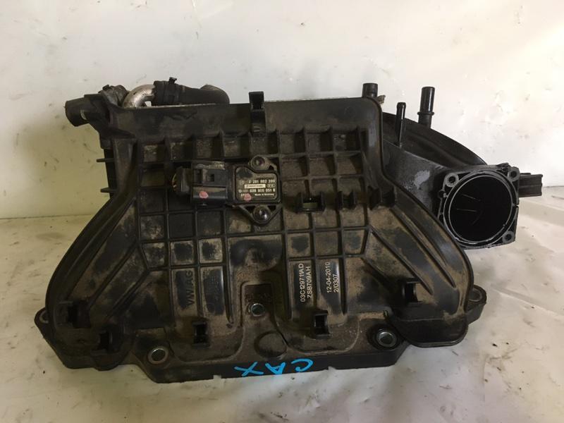 Коллектор впускной с интеркуллером Volkswagen Golf CAX (б/у)