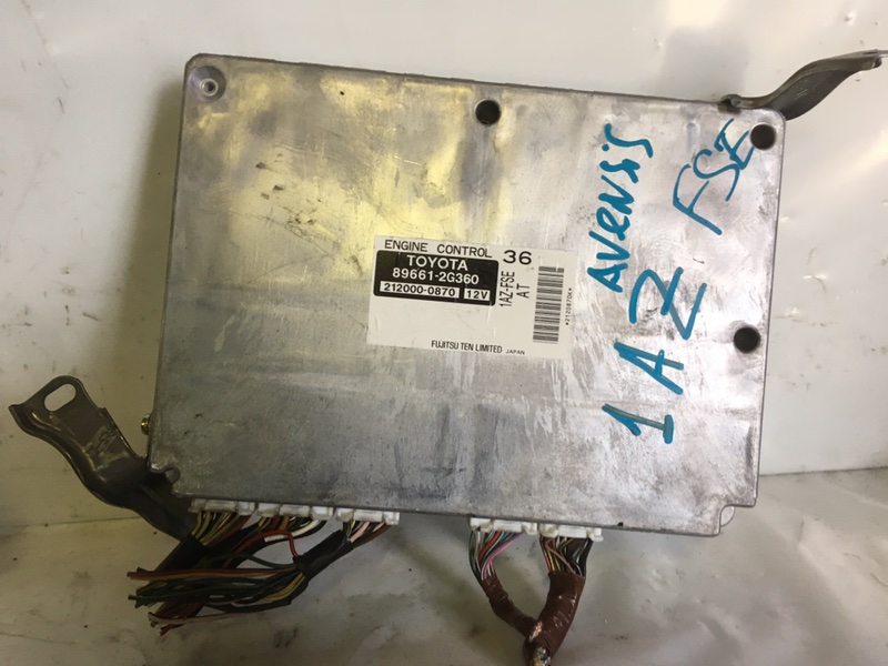Блок управления двигателем Toyota Avensis 1AZ-FSE (б/у)