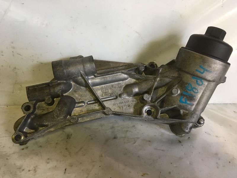 Теплообменник с корпусом фильтра Chevrolet Cruze F18D4 (б/у)