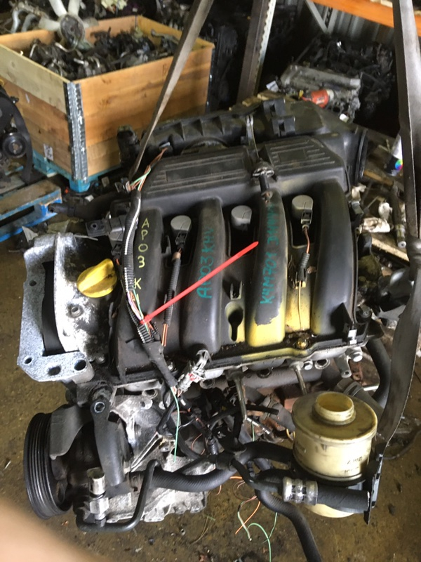 Двигатель Renault Scenic K4M701 2003 (б/у)