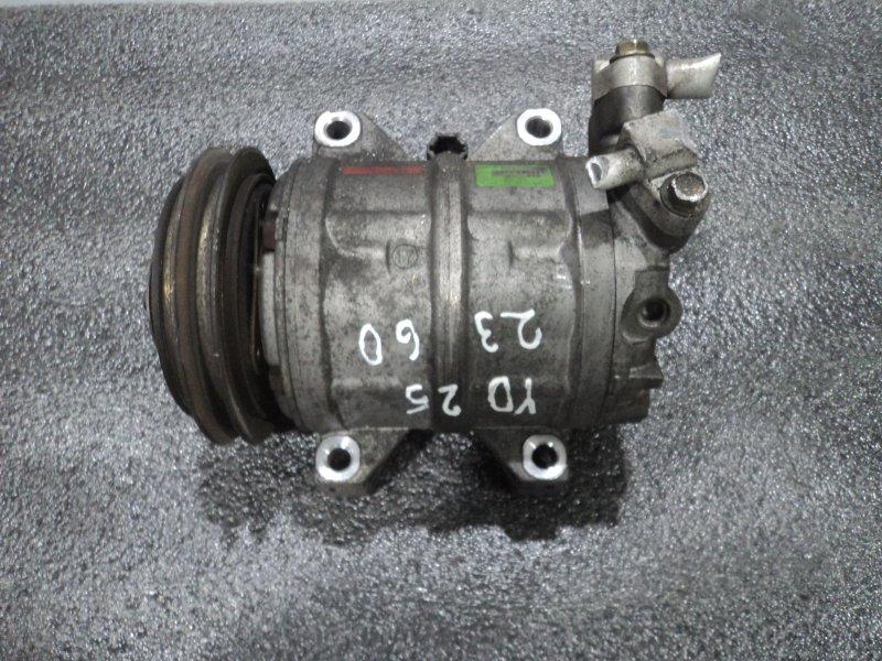 Компрессор кондиционера Nissan Bassara JVNU30 YD25DDT (б/у)