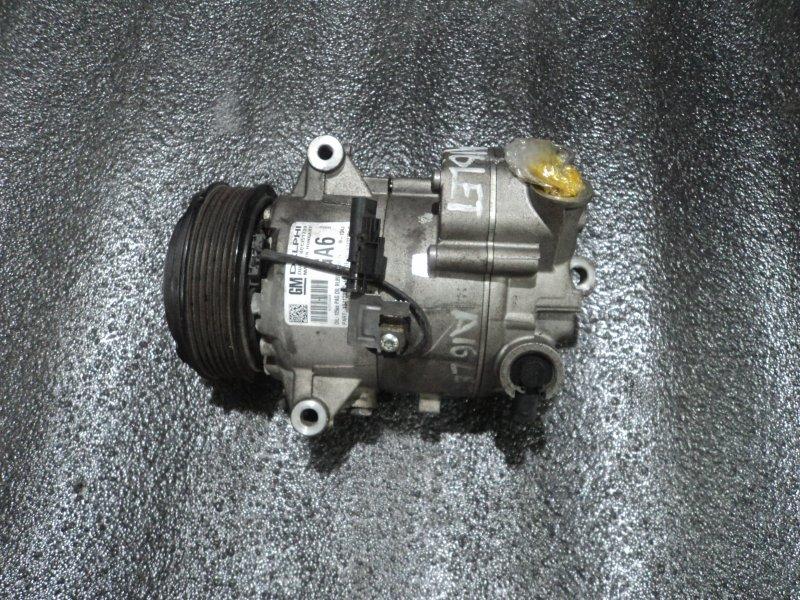 Компрессор кондиционера Opel Astra P10 A16LET (б/у)