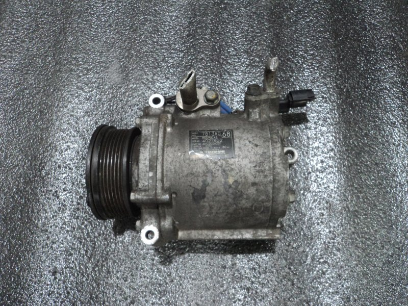 Компрессор кондиционера Mitsubishi Asx CV5W 4B11 (б/у)