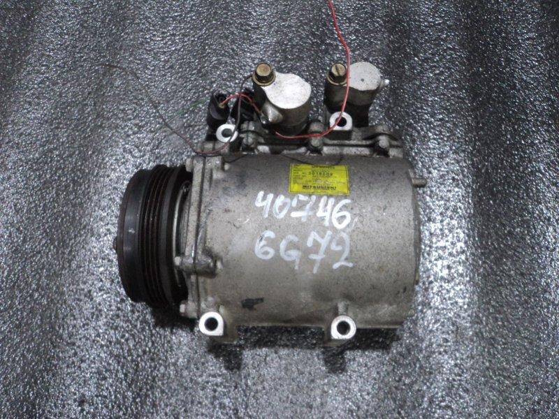 Компрессор кондиционера Mitsubishi Delica PD6W 6G72 (б/у)
