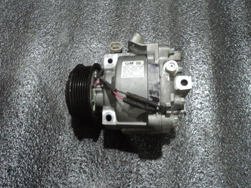 Компрессор кондиционера Opel Aveo A14NET (б/у)