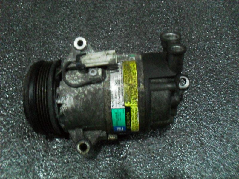 Компрессор кондиционера Opel Astra Z16XEP (б/у)