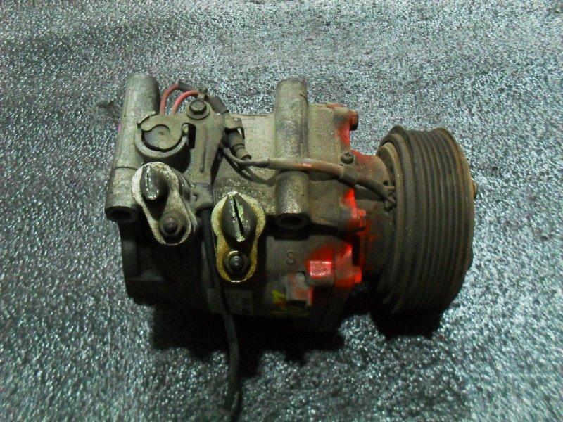 Компрессор кондиционера Honda Civic LW5W D17A (б/у)