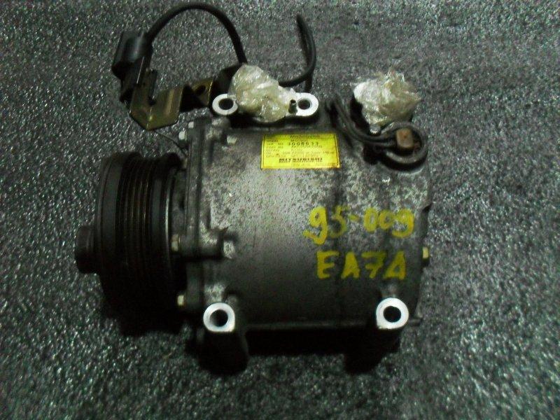 Компрессор кондиционера Mitsubishi Galant EA7A 4G94 (б/у)