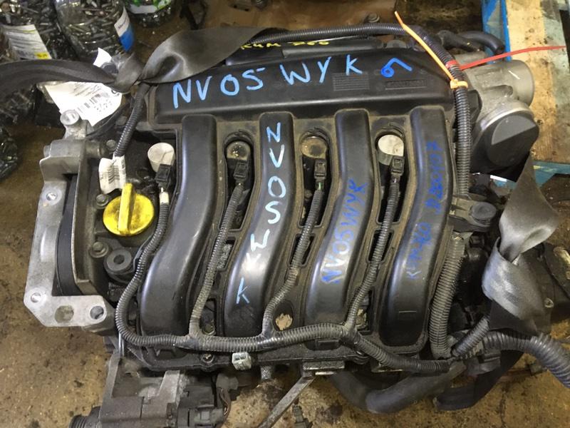 Двигатель Renault Megane K4M760 2003 (б/у)