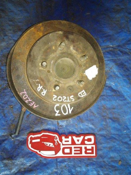 Ступица Toyota Celica ST202 задняя правая (б/у)