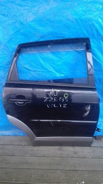 Дверь Toyota Voltz ZZE138 задняя правая (б/у)