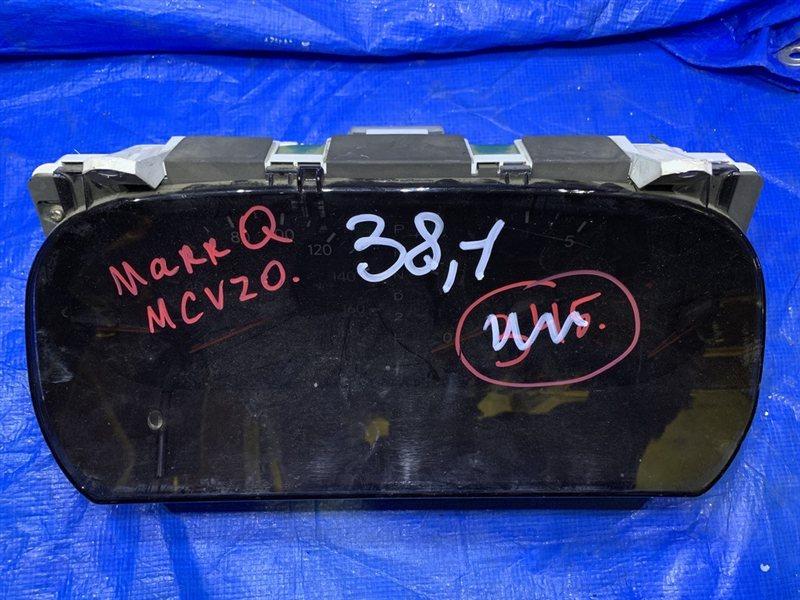 Панель приборов Toyota Mark Ii Qualis MCV20 (б/у)