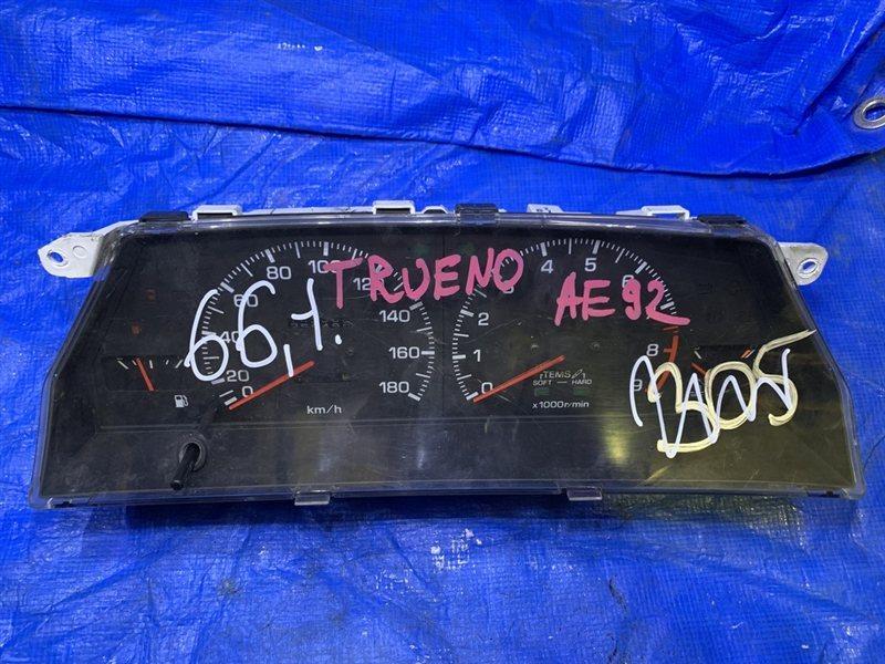 Панель приборов Toyota Sprinter Trueno AE92 (б/у)