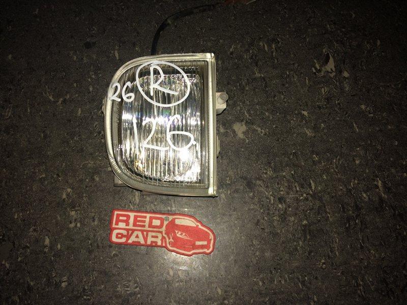 Туманка Nissan Presea R11 правая (б/у)