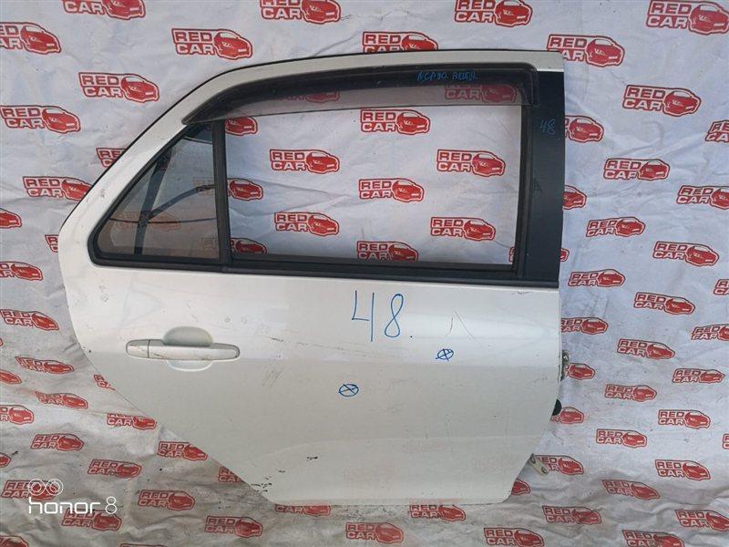Дверь Toyota Belta NCP90 задняя правая (б/у)