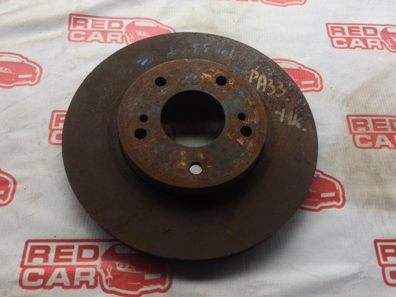 Тормозной диск Nissan Cefiro PA33 передний (б/у)