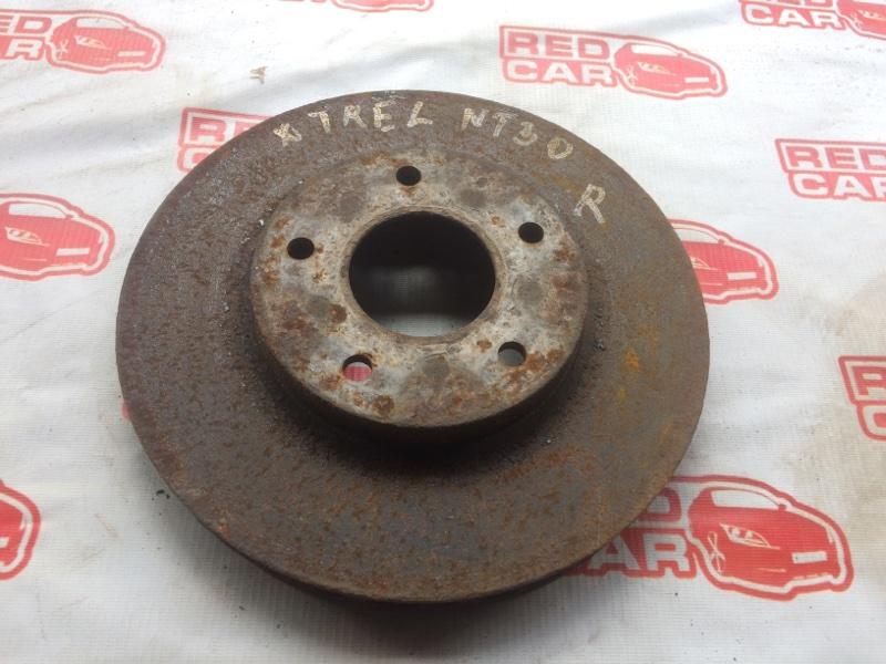 Тормозной диск Nissan X-Trail NT30 передний (б/у)