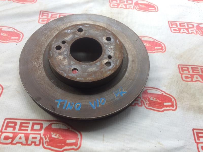 Тормозной диск Nissan Tino V10 передний (б/у)