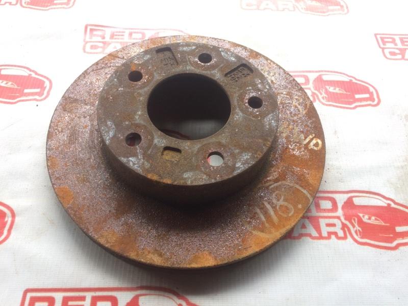 Тормозной диск Nissan Vanette SK82MN передний (б/у)