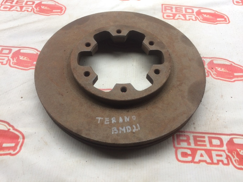 Тормозной диск Nissan Terrano BMD21 передний (б/у)