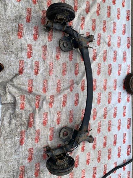 Балка подвески Toyota Ractis NCP105 задняя (б/у)