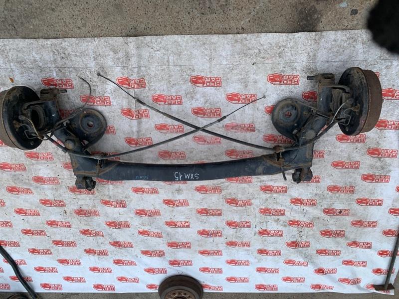 Балка подвески Toyota Ipsum SXM15 задняя (б/у)